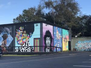 Gaines street mural