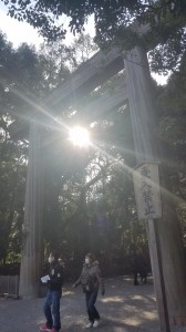 A picture I took when I went to Atsuta Jingu.
